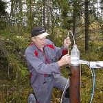 PeOVA - Provtagning Grundvatten