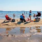 miljövatten - strandbad